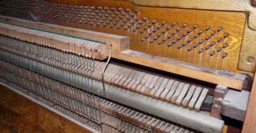 Démontage piano